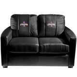 Silver Loveseat with 2016 Chicago Cubs World Series Logo