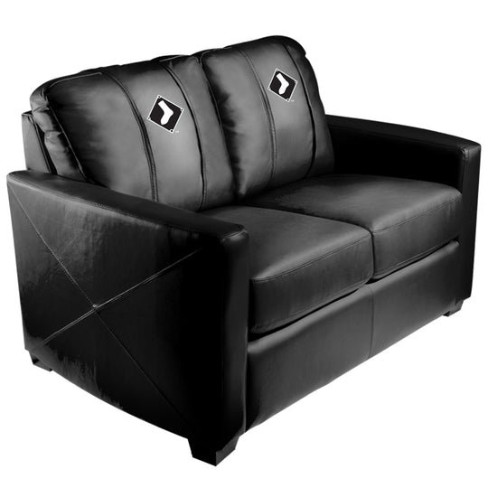 Silver Loveseat with Chicago White Sox Secondary