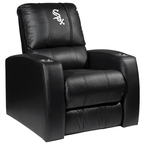Relax Recliner with Chicago White Sox Primary Logo Panel