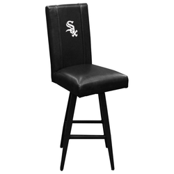 Swivel Bar Stool 2000 with Chicago White Sox Primary Logo Panel