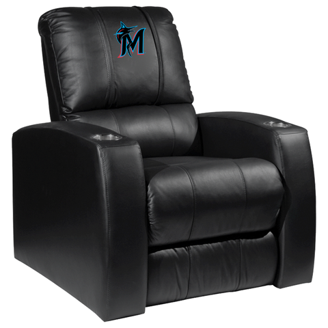 Relax Recliner with Miami Marlins Secondary Logo Panel