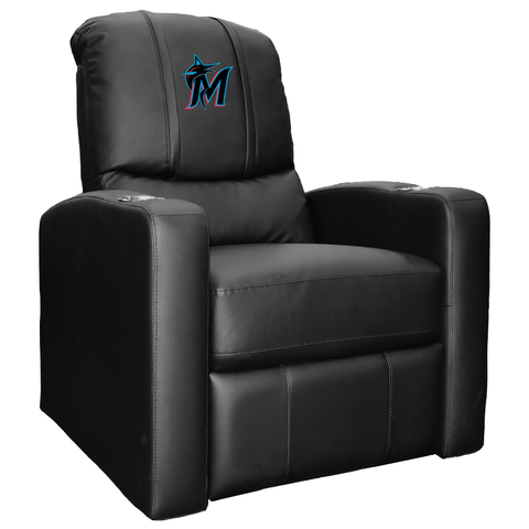 Stealth Recliner with Miami Marlins Secondary Logo Panel
