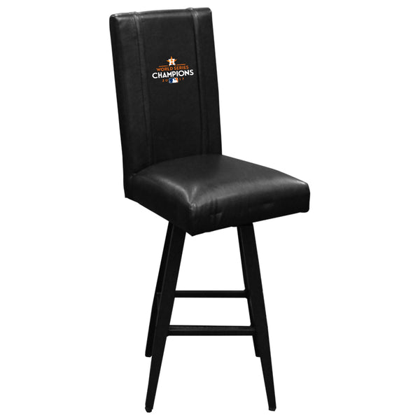Swivel Bar Stool 2000 with Houston Astros 2017 Champions