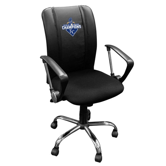 Curve Task Chair with Kansas City Royals 2015 Champions