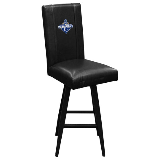 Swivel Bar Stool 2000 with Kansas City Royals 2015 Champions