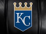 Silver Club Chair with Kansas City Royals Primary Logo Panel