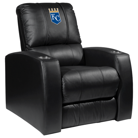 Relax Recliner with Kansas City Royals Primary Logo Panel