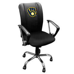 Curve Task Chair with Milwaukee Brewers Alternate Logo