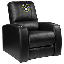 Relax Recliner with Milwaukee Brewers Logo