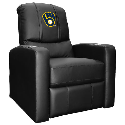 Stealth Recliner with Milwaukee Brewers Alternate Logo