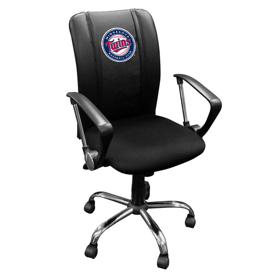 Curve Task Chair with Minnesota Twins Logo
