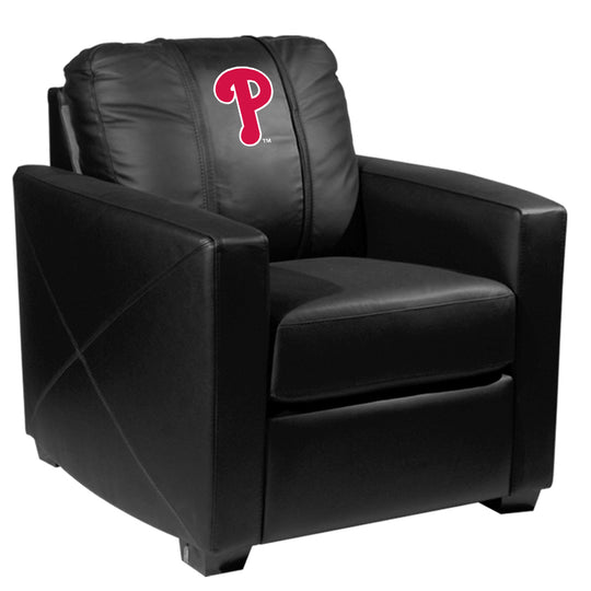 Silver Club Chair with Philadelphia Phillies Secondary