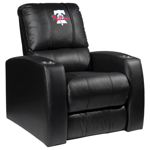 Relax Recliner with Philadelphia Phillies Primary Logo Panel