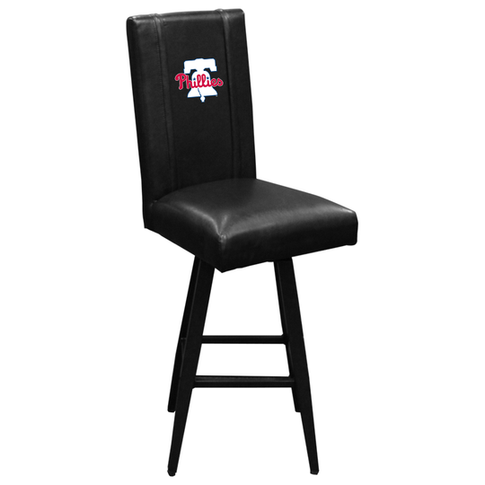 Swivel Bar Stool 2000 with Philadelphia Phillies Primary Logo Panel
