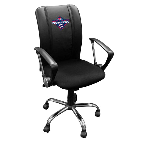 Curve Task Chair with Washington Nationals 2019 Champions