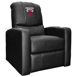 Stealth Recliner with Chicago Bulls Logo