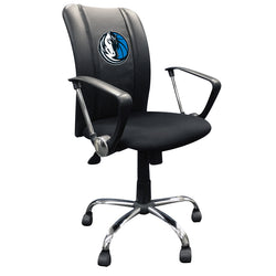 Curve Task Chair with Dallas Mavericks