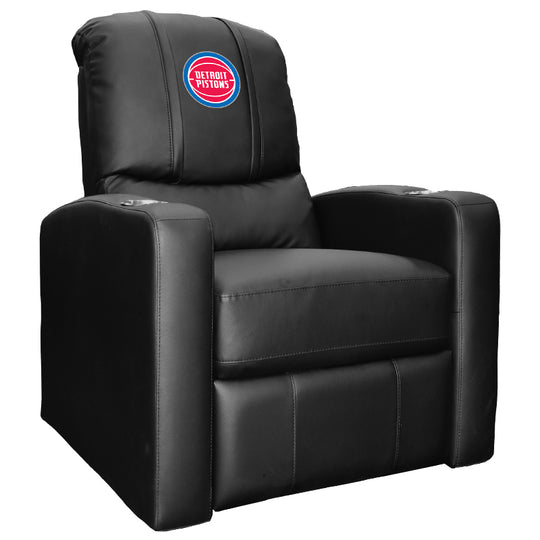 Stealth Recliner with Detroit Pistons Logo