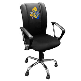 Curve Task Chair with Golden State Warriors 2018 Champions Logo Panel