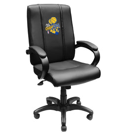 Office Chair 1000 with Golden State Warriors 2018 Champions Logo Panel