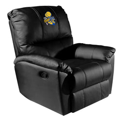 Rocker Recliner with Golden State Warriors 2018 Champions Logo Panel