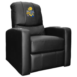 Stealth Recliner with Golden State Warriors 2018 Champions Logo Panel