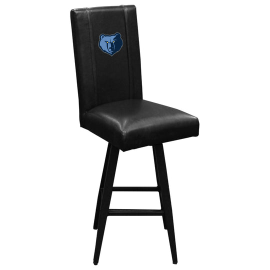 Swivel Bar Stool 2000 with Memphis Grizzlies Primary Logo