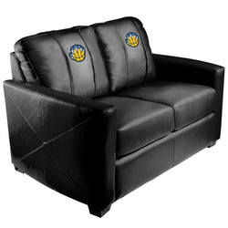 Silver Loveseat with Memphis Grizzlies Secondary Logo