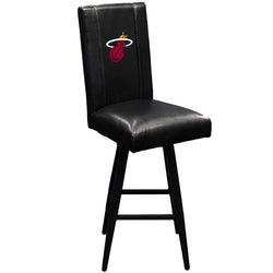 Swivel Bar Stool 2000 Miami Heat Logo