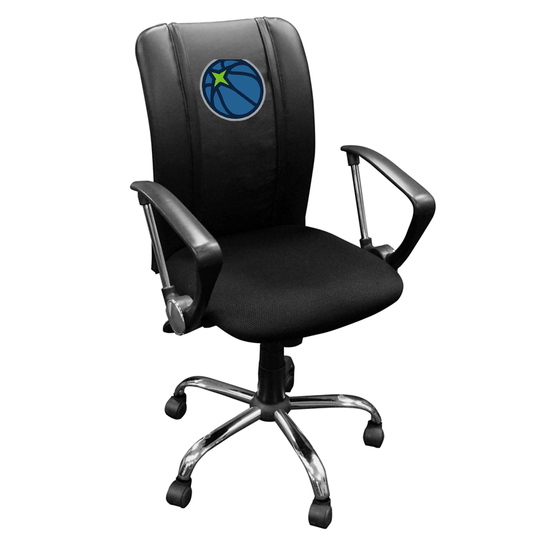 Curve Task Chair with Minnesota Timberwolves Secondary Logo