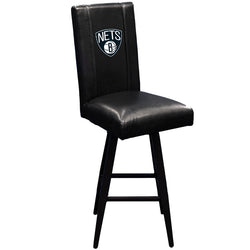 Swivel Bar Stool 2000 with Brooklyn Nets Logo