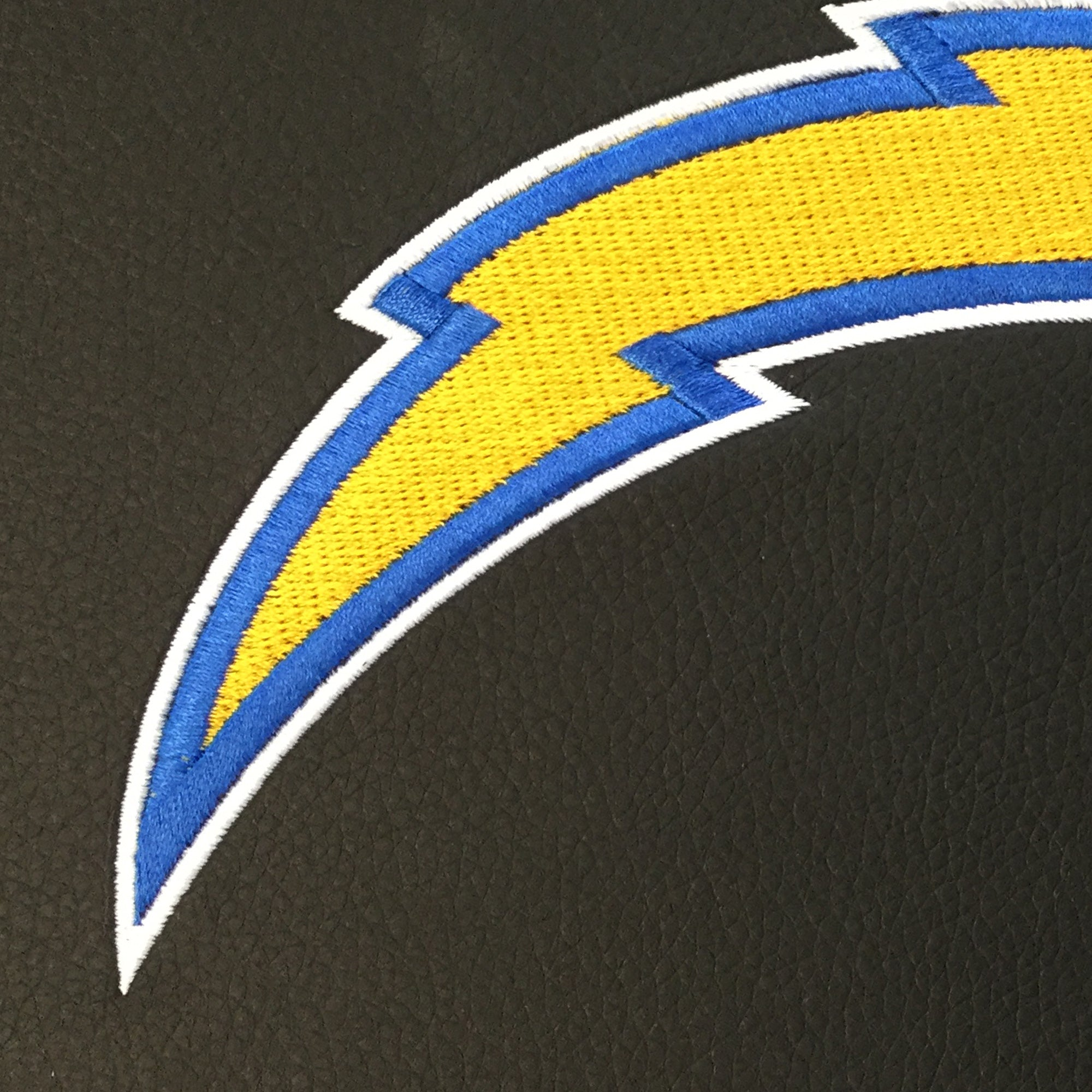 Silver Club Chair with  Los Angeles Chargers Primary Logo