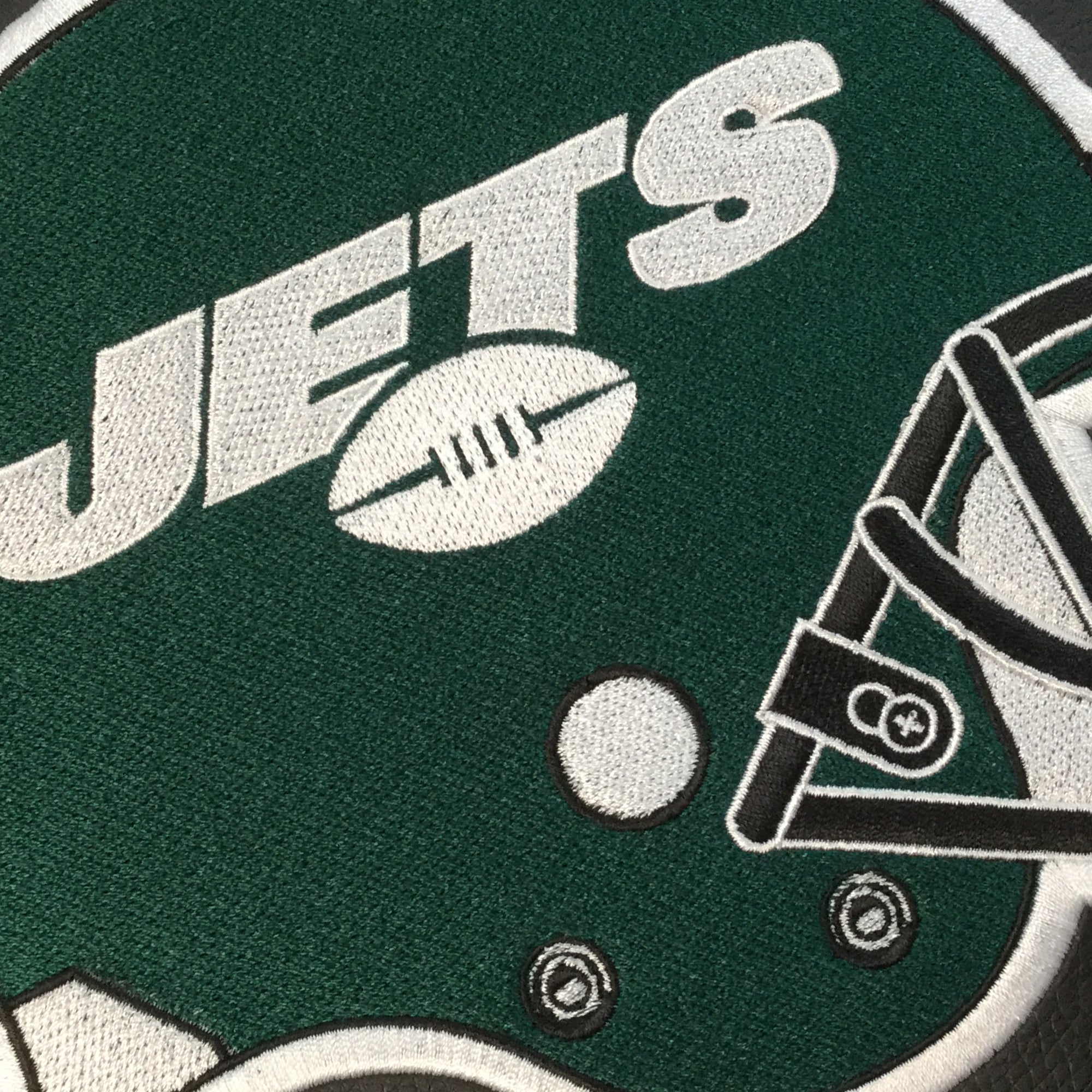 Side Chair 2000 with  New York Jets Helmet Logo Set of 2
