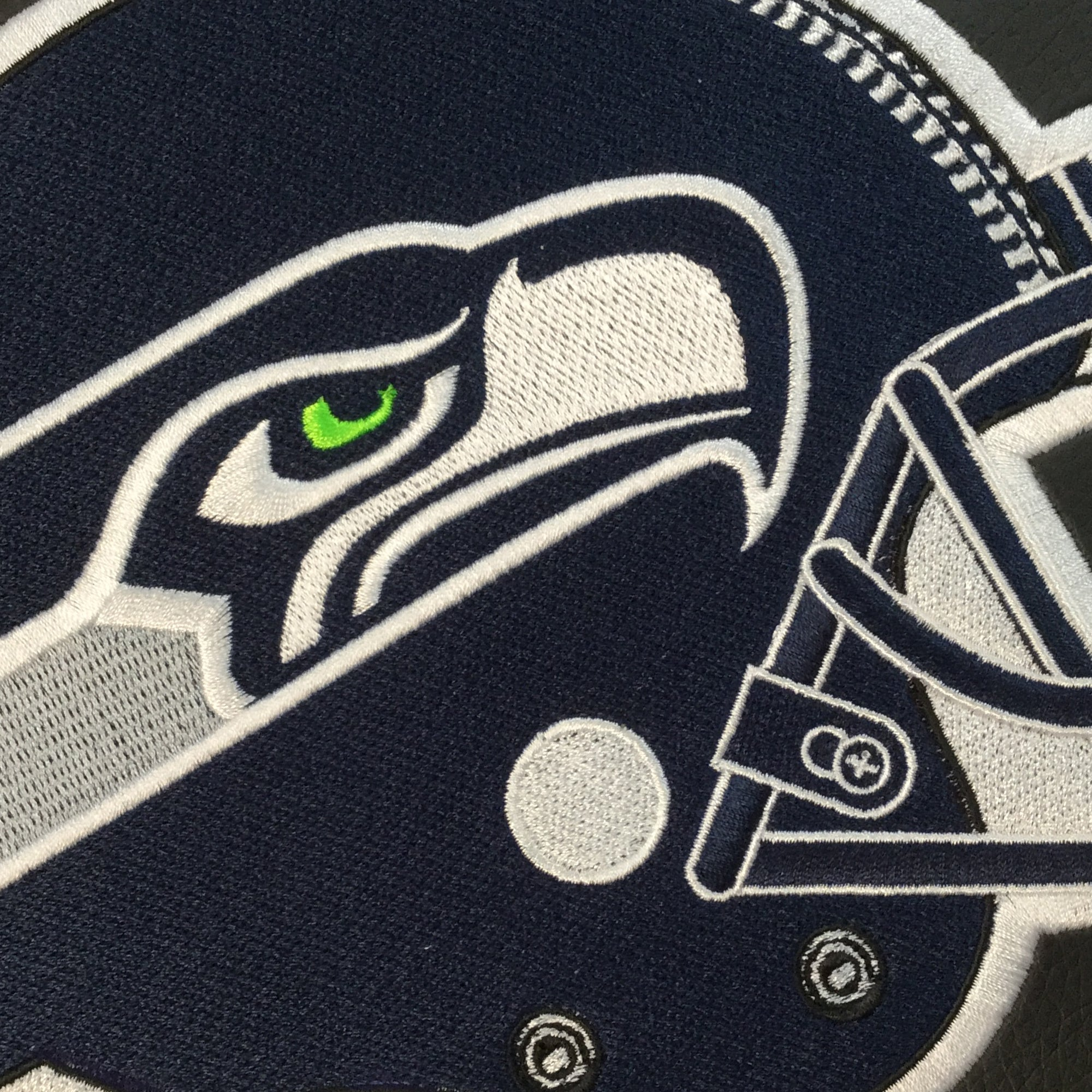 Curve Task Chair with  Seattle Seahawks Helmet Logo