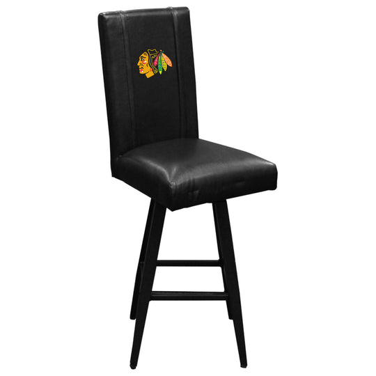 Swivel Bar Stool 2000 Chicago Blackhawks Logo