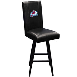 Swivel Bar Stool 2000 Colorado Avalanche Logo