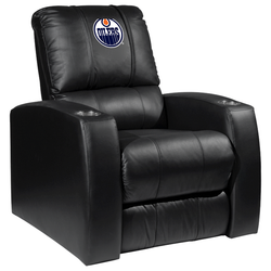 Relax Recliner with Edmonton Oilers Logo