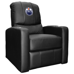 Stealth Recliner with Edmonton Oilers Logo
