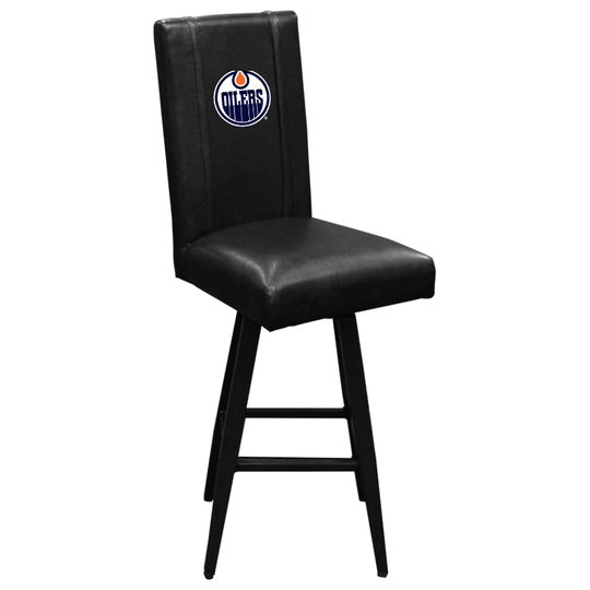 Swivel Bar Stool 2000 Edmonton Oilers Logo