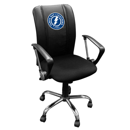 Curve Task Chair with Tampa Bay Lightning Alternate Logo