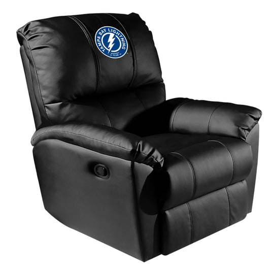 Rocker Recliner with Tampa Bay Lightning Alternate Logo
