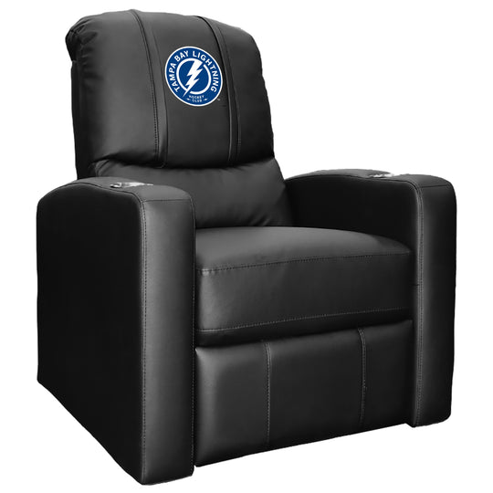 Stealth Recliner with Tampa Bay Lightning Alternate Logo