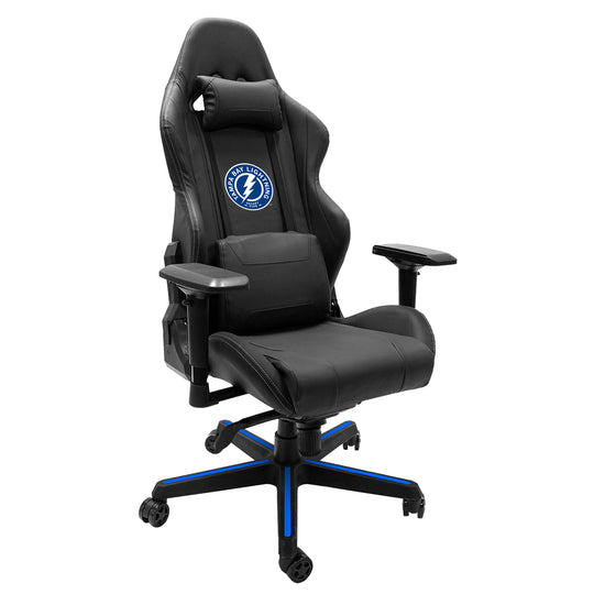 Xpression Gaming Chair with Tampa Bay Lightning Alternate Logo