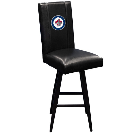 Swivel Bar Stool 2000 Winnipeg Jets Logo