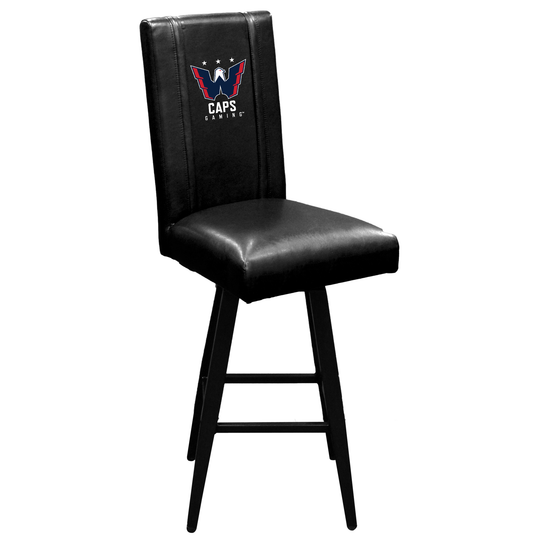 Swivel Bar Stool 2000 Washington Capitals Gaming Primary Logo