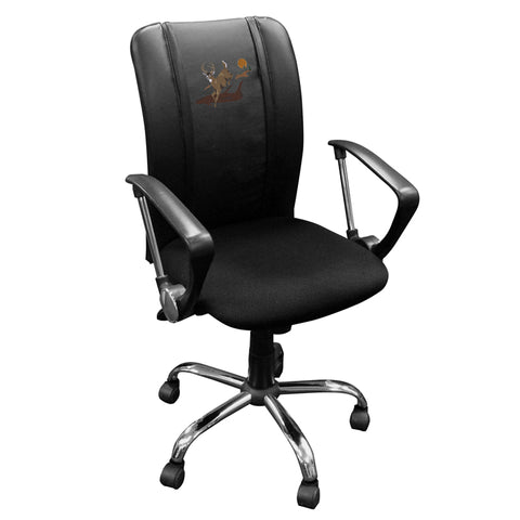 Curve Task Chair with Deer Leaping Logo