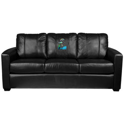 Silver Sofa with Under The Sea Logo Panel