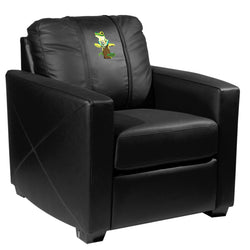 Silver Club Chair with Tree Frog Logo Panel