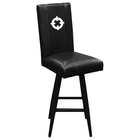 Swivel Bar Stool 2000 with Crosshairs Logo