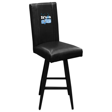 Swivel Bar Stool 2000 with It's A Boy Logo